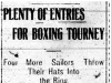 Popular Boxing Tournament