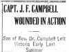 Campbell Wounded