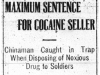 Cocaine Busted for Soldiers
