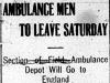 Ambulance Men Departing