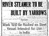 River Steamer by Yarrows