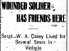 Wounded from Victoria