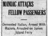 Italian Attacks Passengers