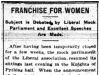 Franchise for Women Discussed