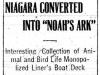 Niagara as Animal Carrier