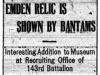 Bantam's Emden Relic
