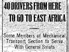Drivers for East Africa