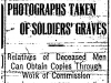 Photographs of Soldiers' Graves