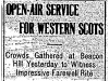 Farewell to the Western Scots