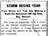 Storm Begins 1915