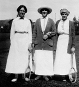 Founder of Norfolk House School in Tennis Outfit