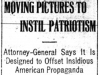 """Moving Pictures to Instil Patriotism"""