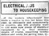"""Electrical Aids to Housekeeping"""