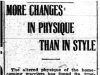 """More Changes in Physique Than Style"""
