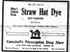 """Straw Hat Dye"""