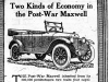 """Two Kinds of Economy in the Post-War Maxwell"""