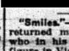 """""""Smiles"""""""