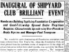 """Inaugural of Shipyard Club Brilliant Event"""
