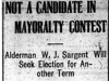 """Not a Candidate in Mayoralty Contest"""