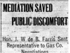 """Mediation Saved Public Discomfort"""