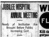 """Jubilee Hospital Annual Meeting"""