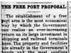 """The Free Port Proposal"""