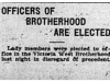 """Officers of Brotherhood are Elected"""