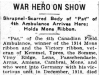"""War Hero On Show"""