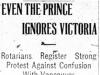 """""""Even the Prince Ignores Victoria"""""""