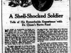 """A Shell-Shocked Soldier"""
