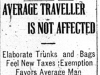 """Average Traveller Is Not Affected"""