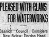 """Pleased With Plans for Waterworks"""