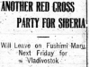 """Another Red Cross Party for Siberia"""