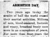 """""""Armistice Day"""""""