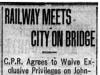 """""""Railway Meets City On Bridge"""""""