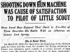 """Shooting Down Hun Machine Was Cause of Satisfaction To Pilot Of Little Scout"""