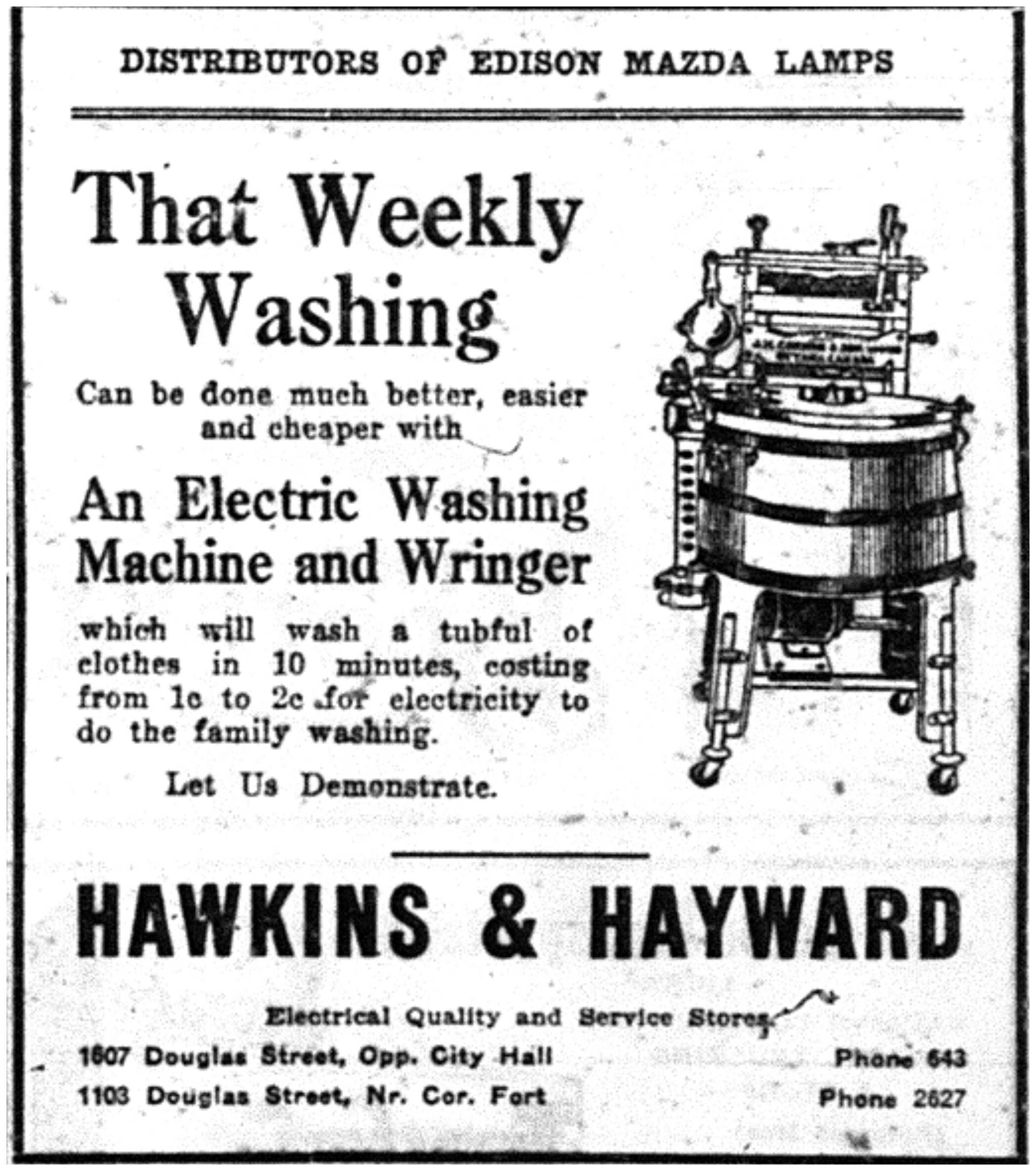 """That Weekly Washing"""
