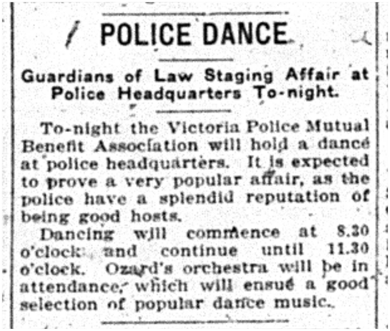 """Police Dance"""