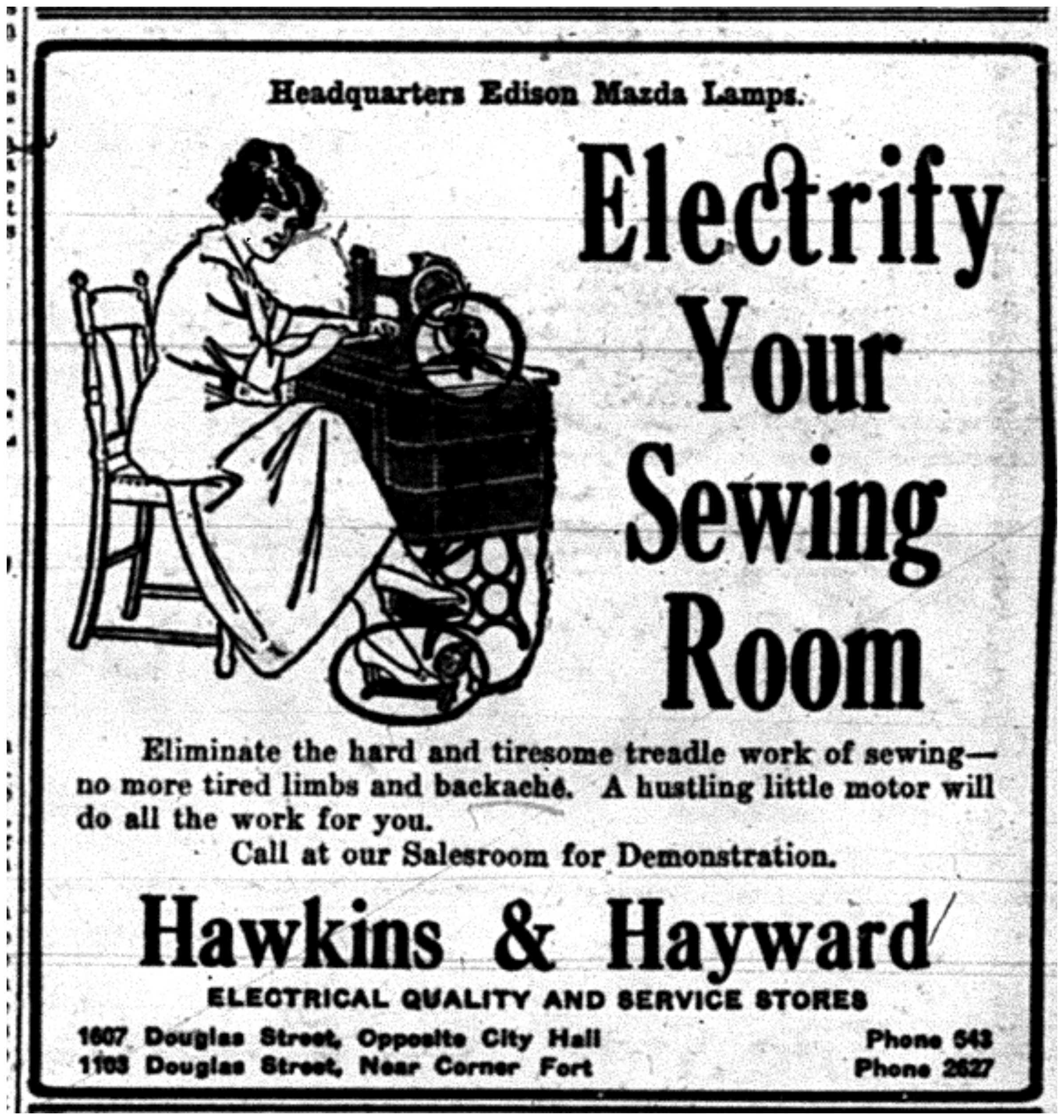 """""""Electrify Your Sewing Room"""""""