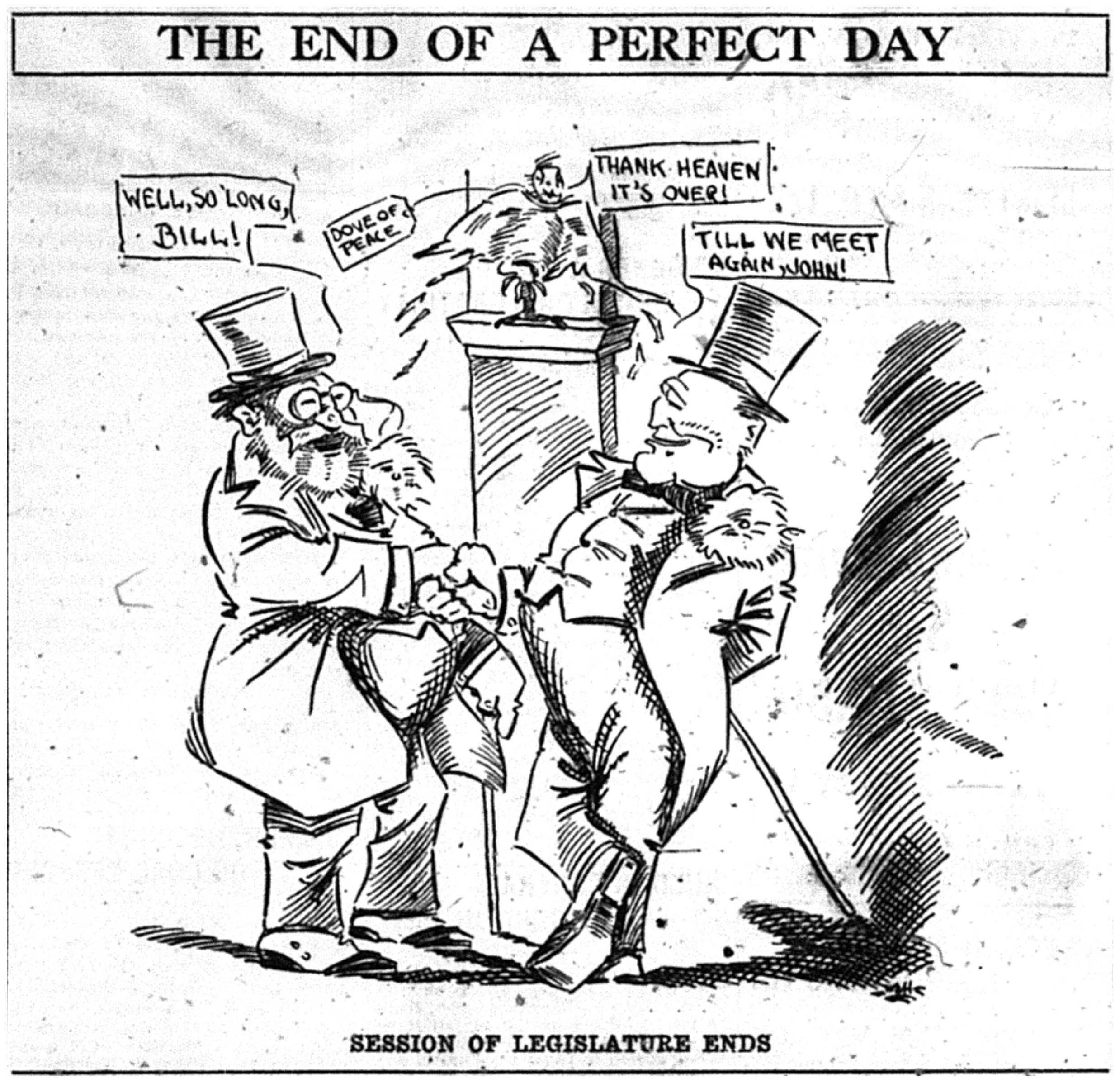 mot cl de l image postwar 1920s News the end of a perfect day