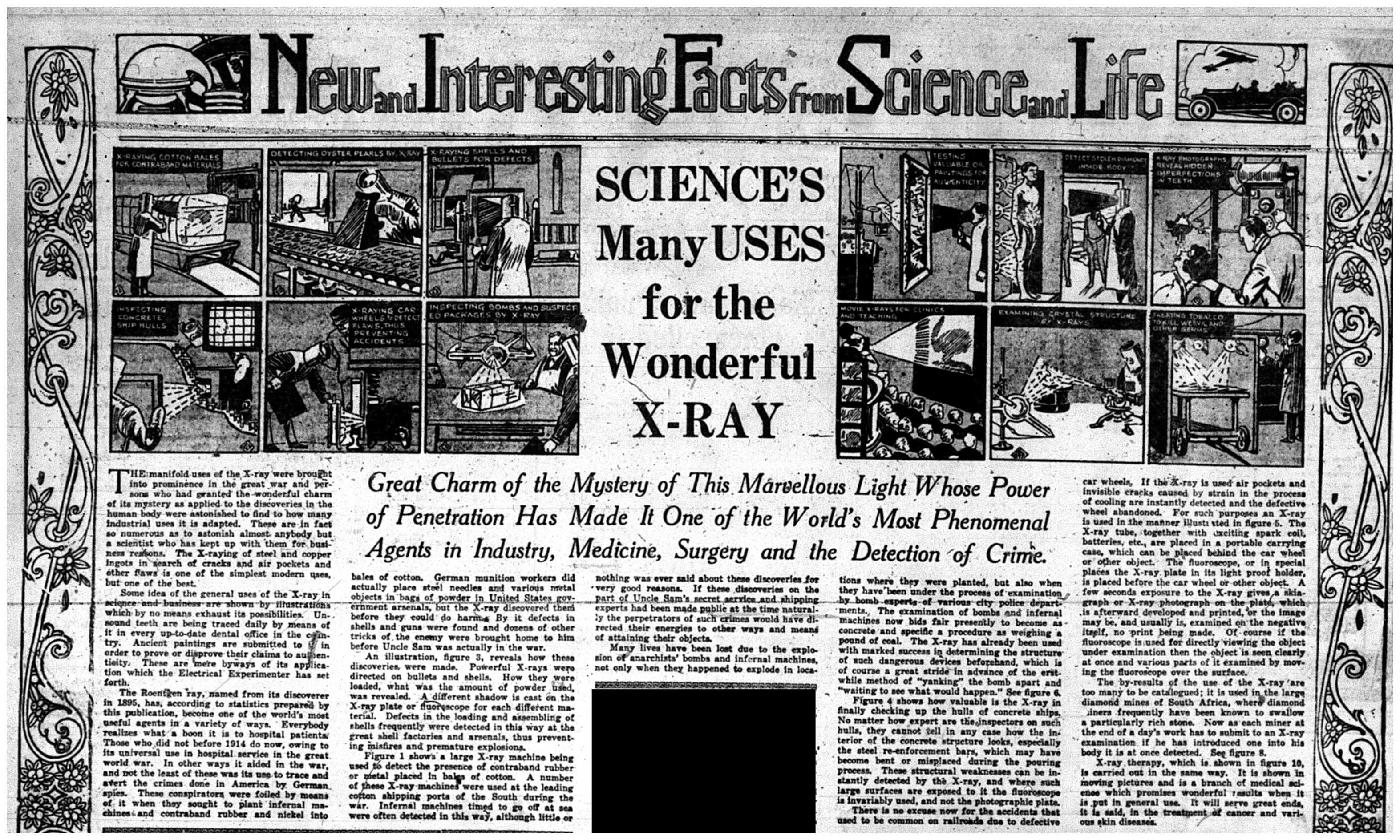 """Science's Many Uses for the Wonderful X-Ray"""