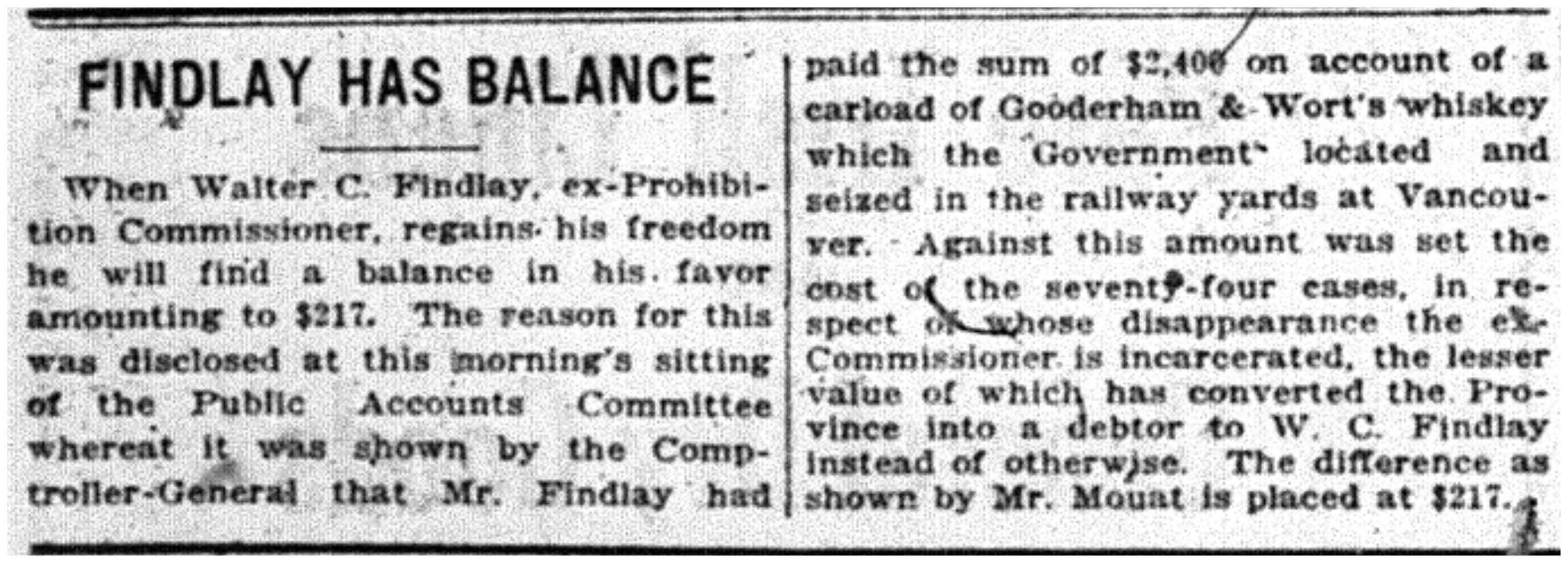 """""""Findlay Has Balance"""""""