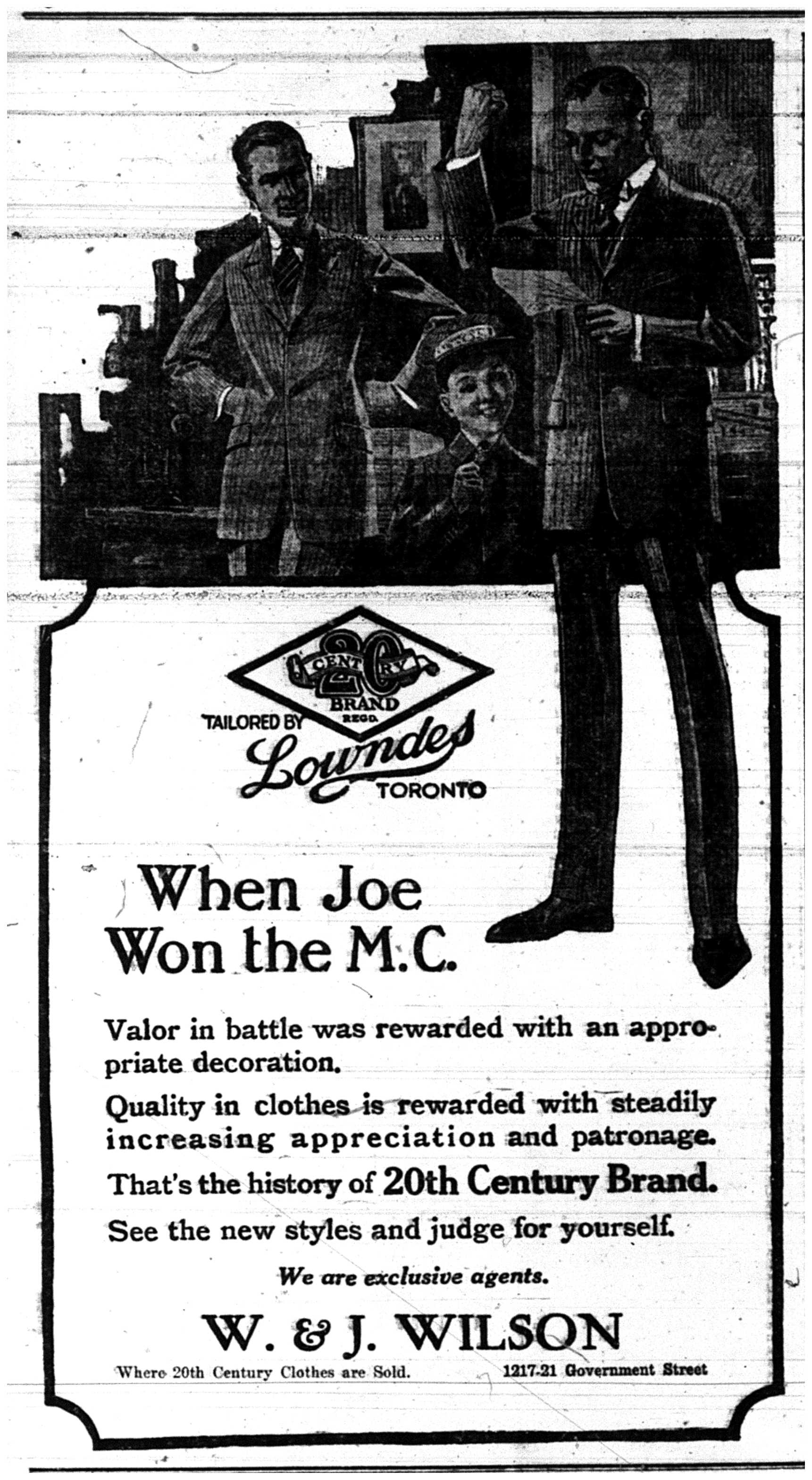 """When Joe Won the M.C."""