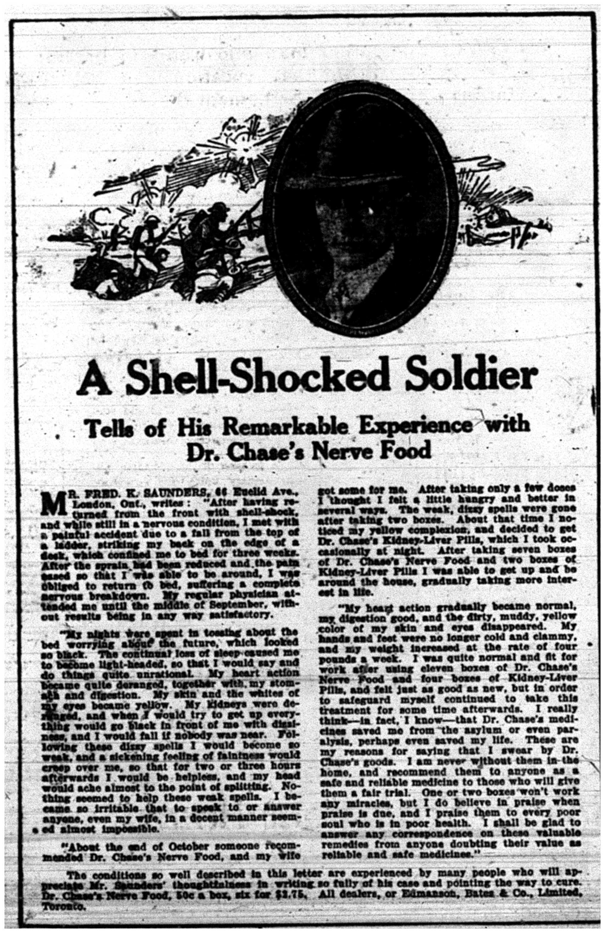 """""""A Shell-Shocked Soldier"""""""