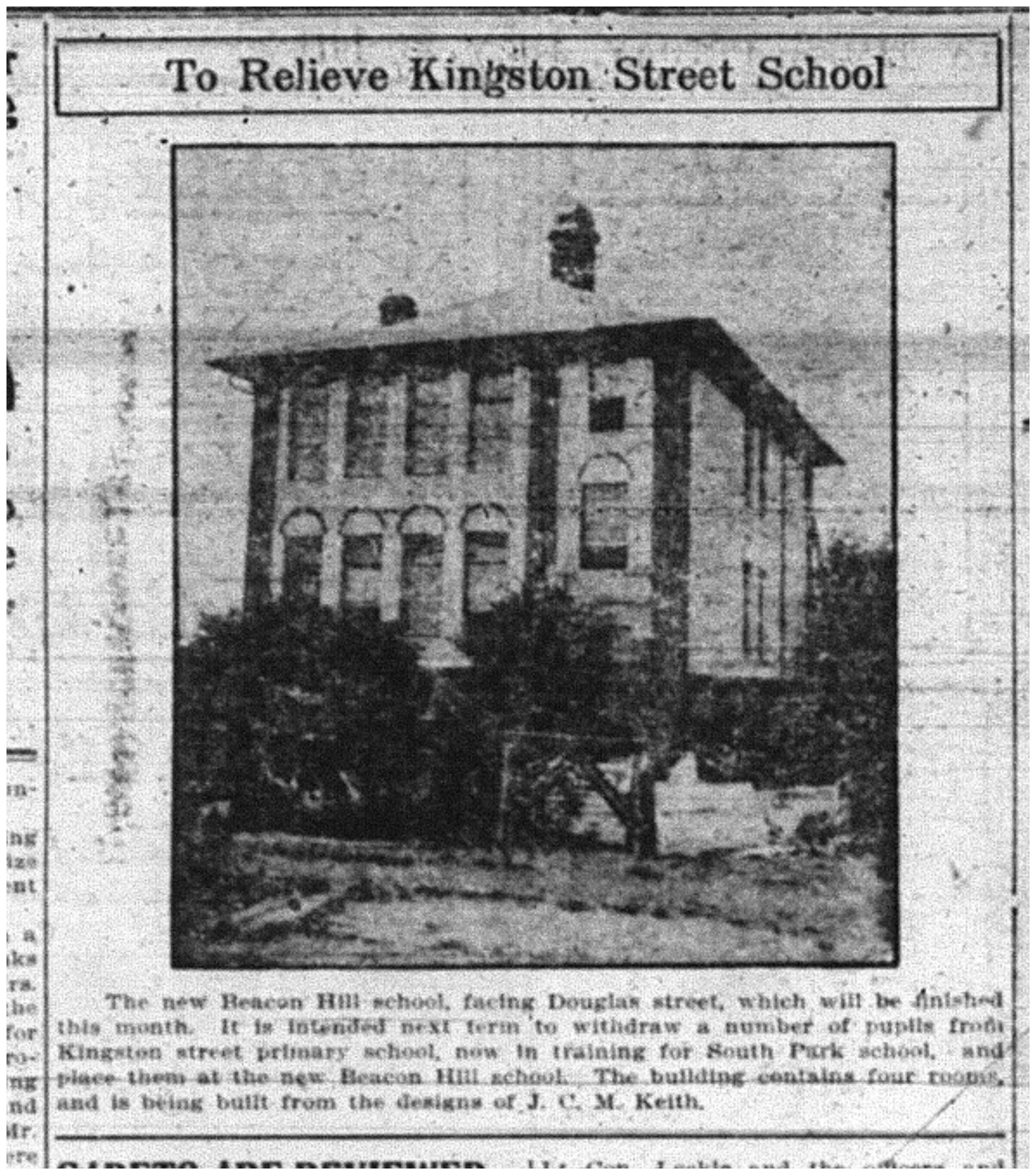 """""""To Relieve Kingston Street School"""""""