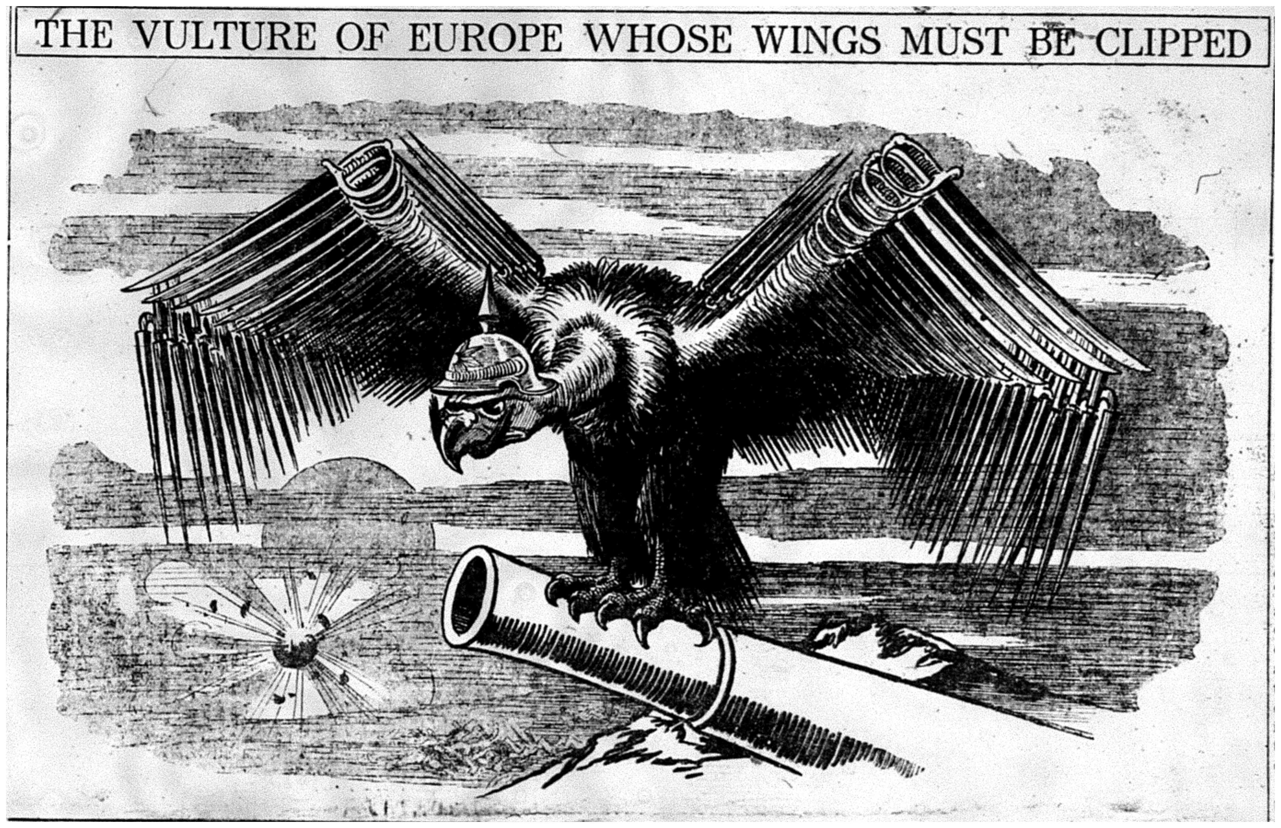 """The Vulture of Europe Whose Wings Must Be Clipped"""