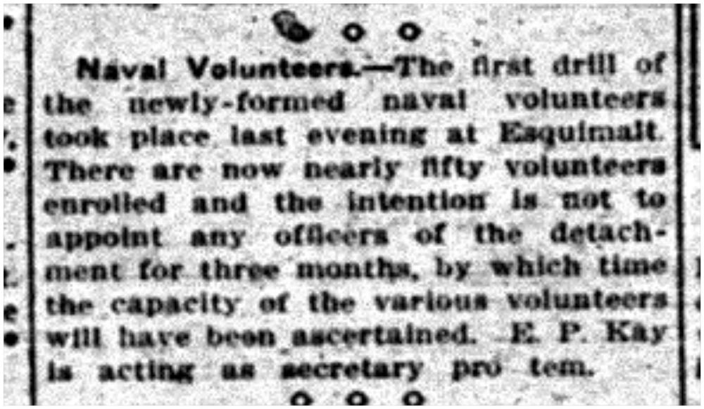 """""""Naval Volunteers"""""""