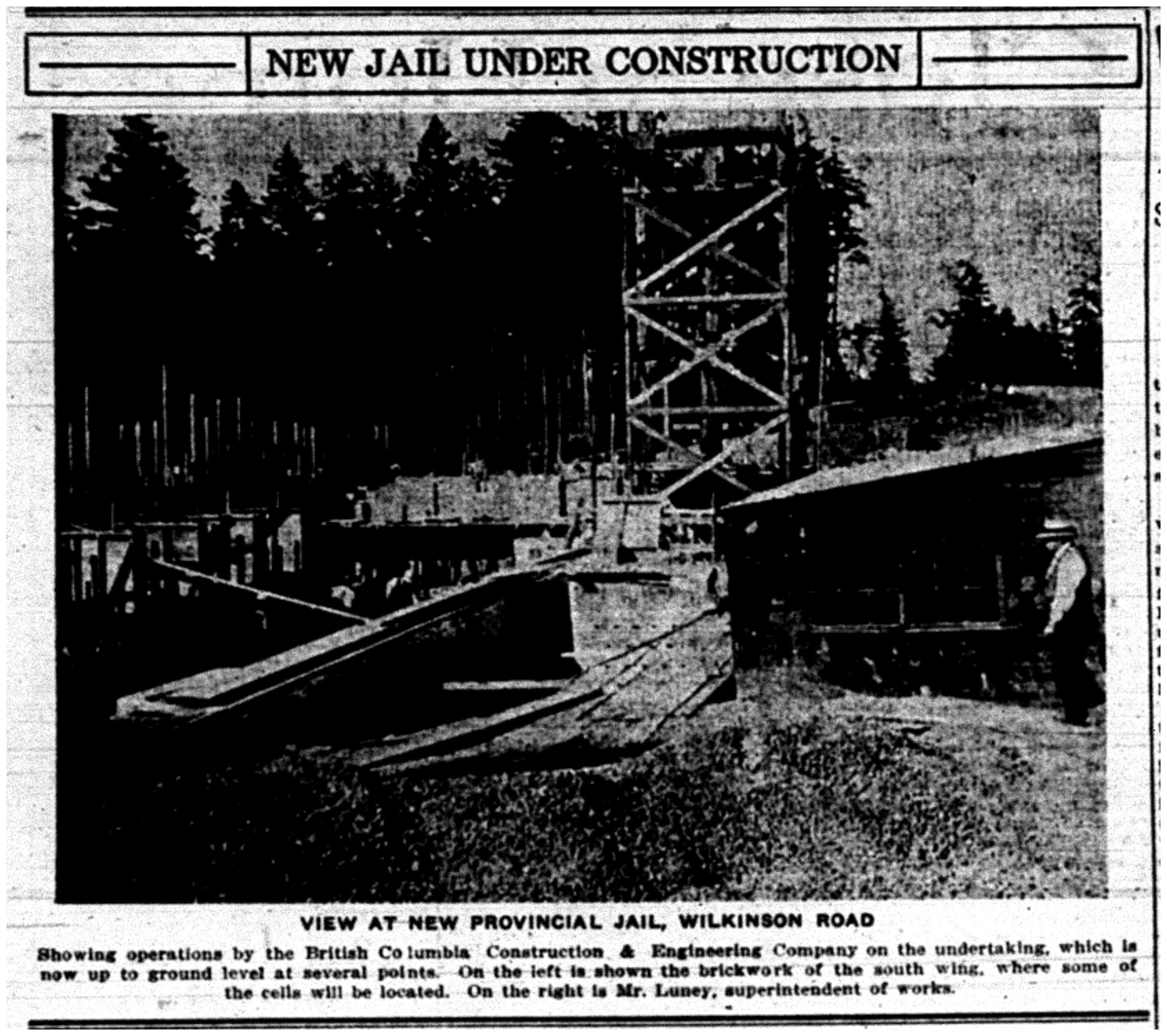 """New Jail Under Construction"""