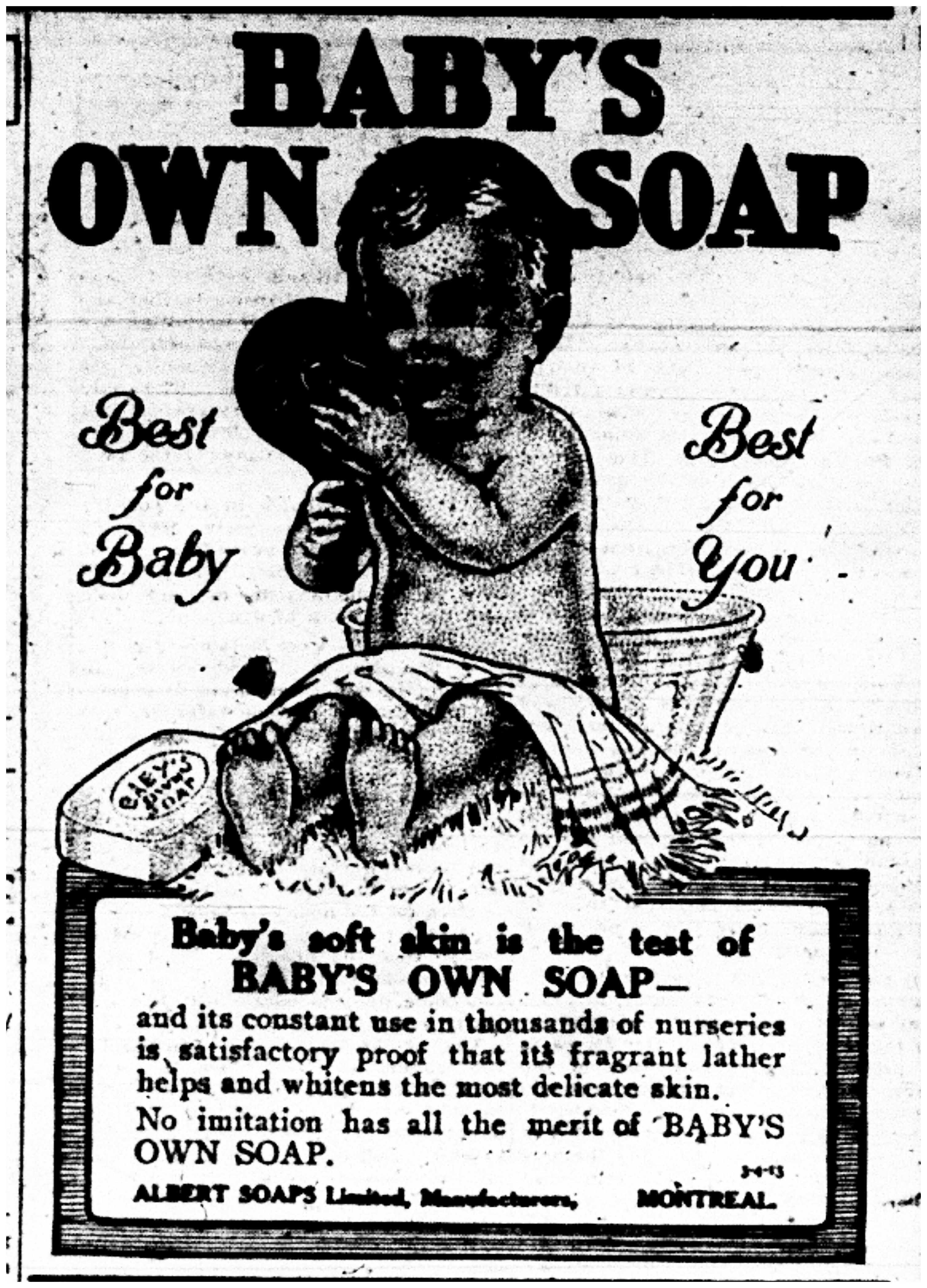 """Baby's Own Soap"""