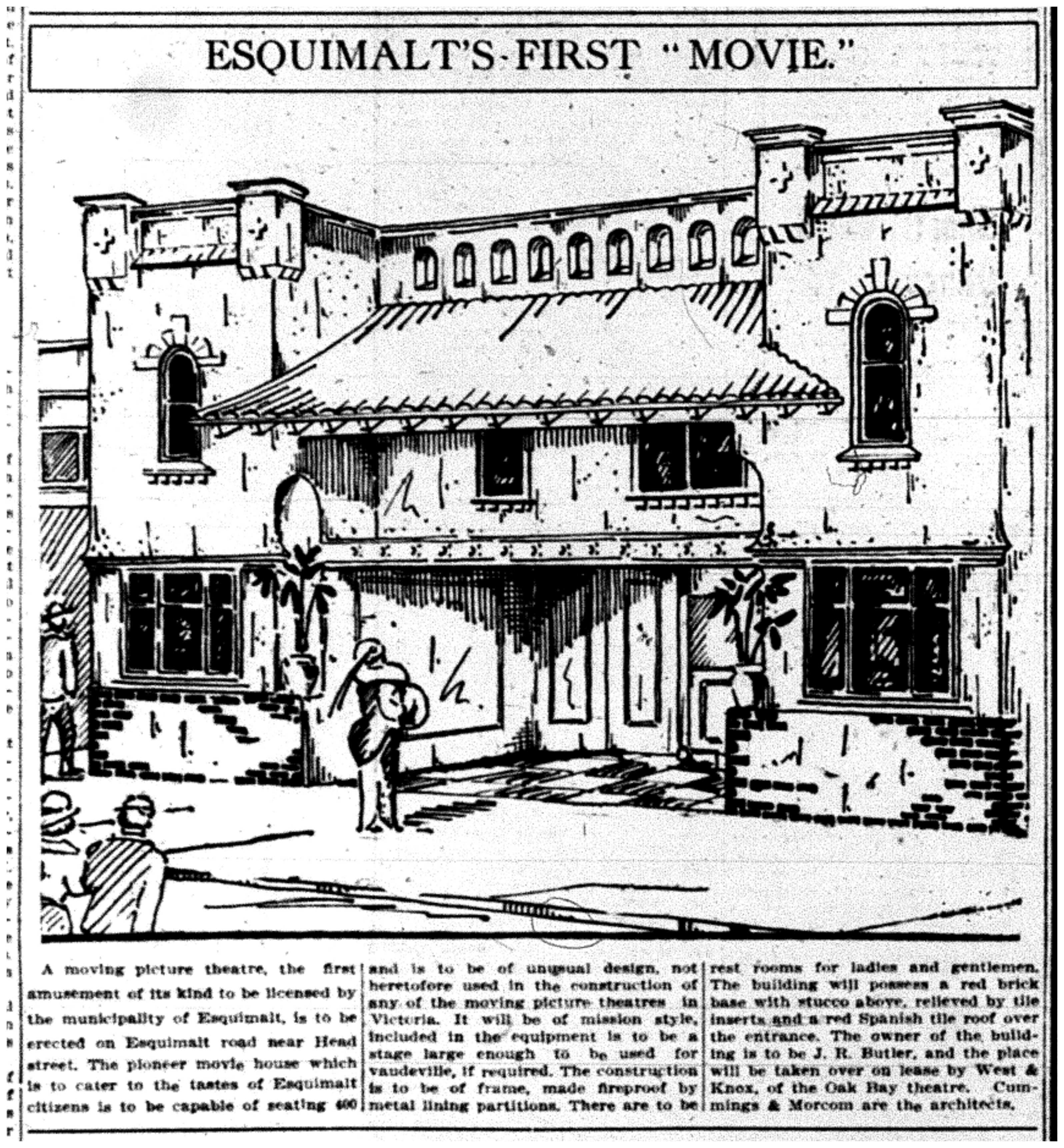 """Esquimalt's First ""Movie"""""